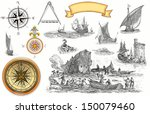 pirate map | Shutterstock . vector #150079460
