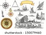 pirate map | Shutterstock . vector #150079460