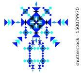 aztec pattern | Shutterstock .eps vector #150079970