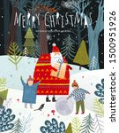 merry christmas and happy new... | Shutterstock .eps vector #1500951926