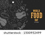 world food day illustration... | Shutterstock .eps vector #1500952499
