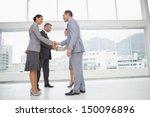 business people meeting in... | Shutterstock . vector #150096896