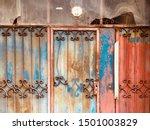 architecture old vintage steel... | Shutterstock . vector #1501003829