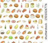 alcohol  american food ... | Shutterstock .eps vector #1501026776
