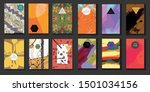 booklet pattern background... | Shutterstock .eps vector #1501034156