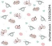 wedding pattern | Shutterstock .eps vector #150106394