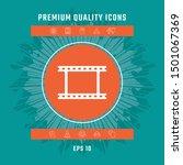 camera roll  photographic film  ... | Shutterstock .eps vector #1501067369