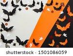 holidays  concept   halloween... | Shutterstock . vector #1501086059