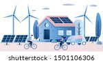 clean energy and smart... | Shutterstock .eps vector #1501106306