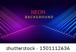 polygonal lines purple blue... | Shutterstock .eps vector #1501112636