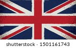 uk flag in grungy style.vector... | Shutterstock .eps vector #1501161743