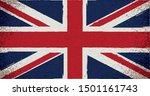 uk flag in grungy style.vector... | Shutterstock .eps vector #1501161743