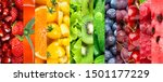 fruits and vegetables. vitamins.... | Shutterstock . vector #1501177229
