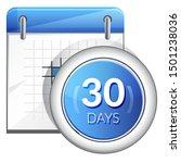business organizer 30 days... | Shutterstock .eps vector #1501238036
