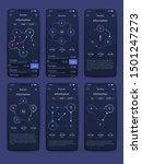different ui  ux  gui screens...