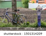 Image Of Purple Bicycle And...