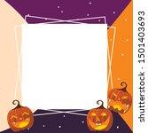 Pumpkin Halloween Background...