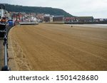 The Sand Beach In Scarborough...