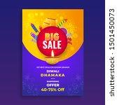 big sale template or flyer... | Shutterstock .eps vector #1501450073