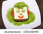 Fun Food For Kids   Face On...