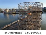 Crab Pots On The Dock ...