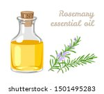 Rosemary Essential Oil In Glass ...