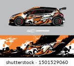 car wrap decal graphics. wolf...   Shutterstock .eps vector #1501529060