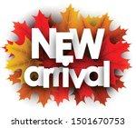 autumn 3d paper new arrival... | Shutterstock .eps vector #1501670753