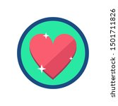 lives icon. lives sign symbol.... | Shutterstock .eps vector #1501711826