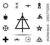 religion symbol  christian... | Shutterstock .eps vector #1501773203