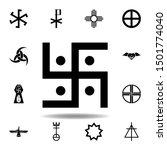 religion symbol  jainism icon....