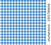 blue seamless table cloth... | Shutterstock .eps vector #1501784696