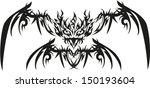 phoenix tattoo. | Shutterstock .eps vector #150193604