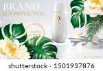 sunblock cream product with... | Shutterstock .eps vector #1501937876