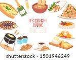 french cuisine vector... | Shutterstock .eps vector #1501946249