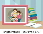 photos of family members in... | Shutterstock .eps vector #1501956173