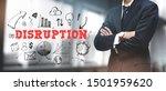 asian businessman on blurred... | Shutterstock . vector #1501959620