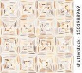 checkered sloppy brush drawing. ...   Shutterstock .eps vector #1501988969