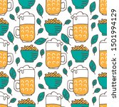 seamless pattern with...   Shutterstock .eps vector #1501994129