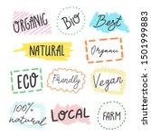 vector typographic banner with... | Shutterstock .eps vector #1501999883