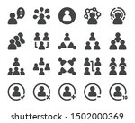 person and people icon set... | Shutterstock .eps vector #1502000369
