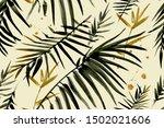 watercolor background. seamless ... | Shutterstock . vector #1502021606