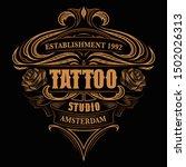 vintage coloured lettering for... | Shutterstock .eps vector #1502026313