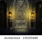 Gothic Palace Interior...