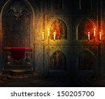 Gothic Palace Interior...