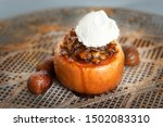 Baked Apple With Chestnut Hone...