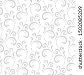 ornamental pattern. vector... | Shutterstock .eps vector #1502085209