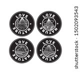 set of symbol badge emblem... | Shutterstock .eps vector #1502093543