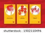 chinese new year vertical... | Shutterstock .eps vector #1502110496