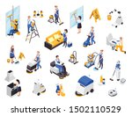 professional cleaning service... | Shutterstock .eps vector #1502110529